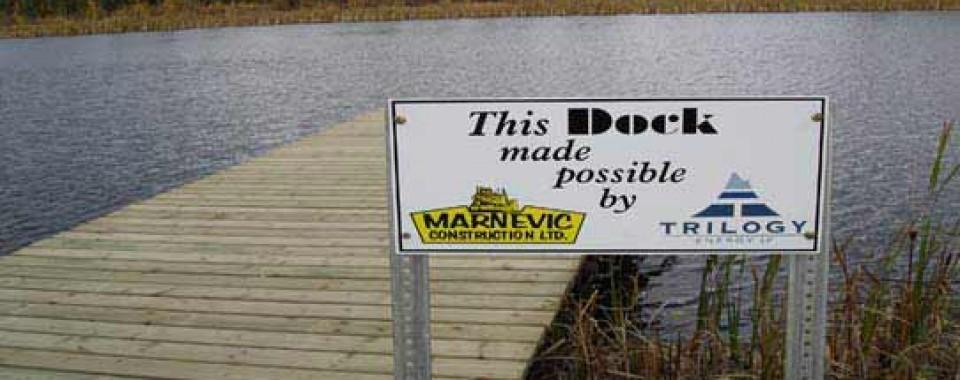 trout pond dock